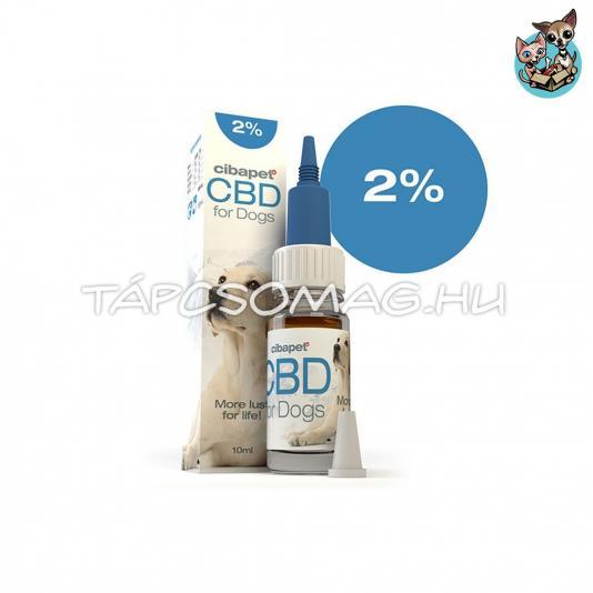 Cibapet 2% CBD olaj kutyáknak 10ml